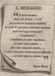 Frasi Vasco E Ligabue.Viva Massimo Riva